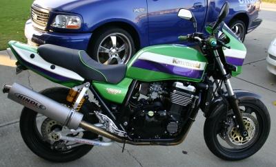 Kawasaki ZR1100C ZRX1100 99 Right Side