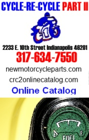 Visit Cycle-Re-Cycle's Online Catalog Of New Parts and Accessories